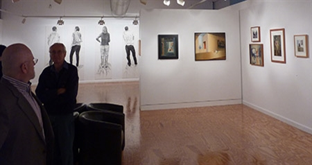 Roger Beale - 2013 Exhibition before opening