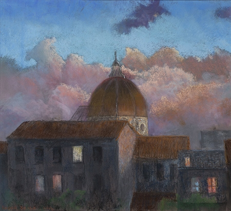 Roger Beale - Florence Sunset Clouds