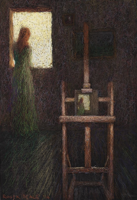 Roger Beale - Model at the Studio Window