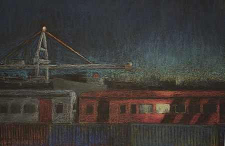 Roger Beale - Night Train Amsterdam