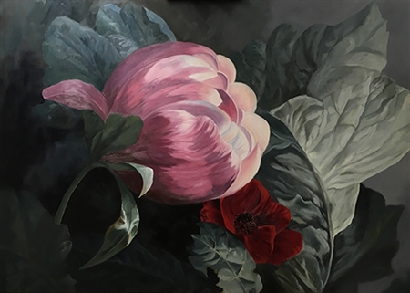 Roger Beale - Peony, Anenome, Brassica