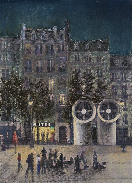 Roger Beale - Place Pompidou