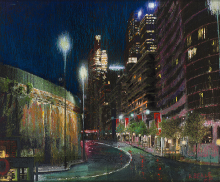 Roger Beale - Macquarie Street Nightscape