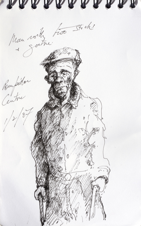 Roger Beale - Old Man with Goitre