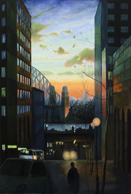 Roger Beale - Harbour Sunset Sydney