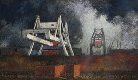 Roger Beale - Storm over Amsterdam